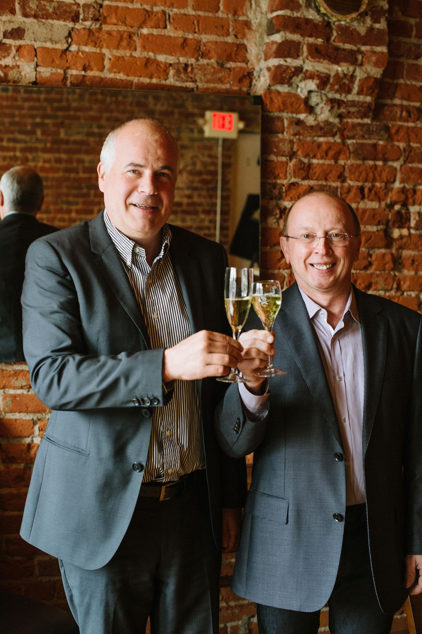 Thibaut Jannison Winery - Virginia Sparkling Wines - Claude Thibaut and Manuel Jannison