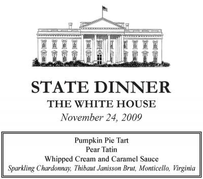 Thibaut Jannison Winery - Virginia Sparkling Wines - White House State Dinner
